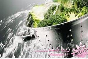 سبزیجات، شستن، ضدعفونی
