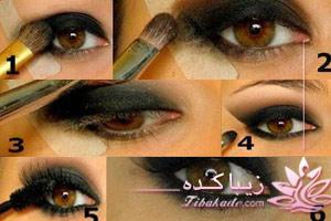 خط چشم، آرایش، چسب، سایه، ریمل