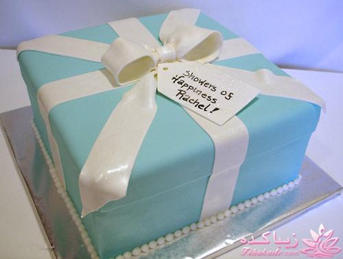 Image result for عکس کیک تولد ابی رنگ