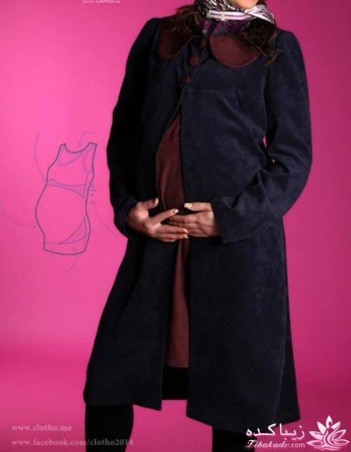 مدل مانتو حاملگی