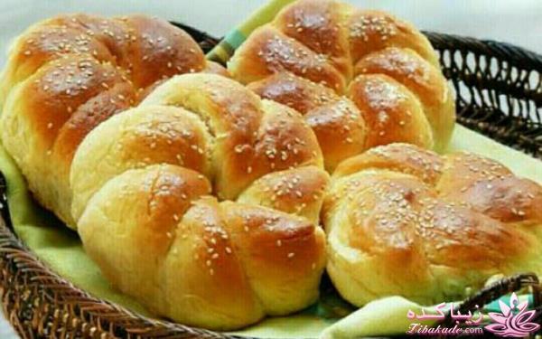طرز تهیه نان های محلی - دستور پخت کلوچه ها