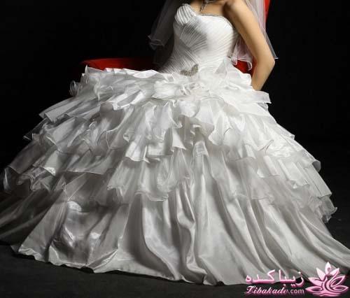 قیمت لباس عروس ساتن