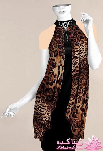 الگوی لباس پشت باز آموزش دوخت لباسهای نیوتکنیک یقه دراپه ی پشت گردنی - زیباکده