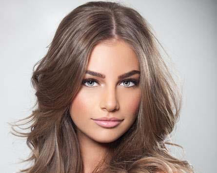 Image result for رنگ موی شکلاتی