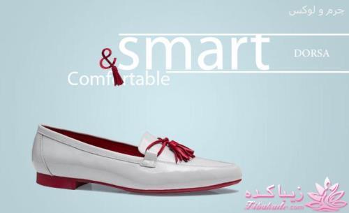 چرم درسا مدل جدید کفش زنانه چرم - زیباکدهچرم درسا