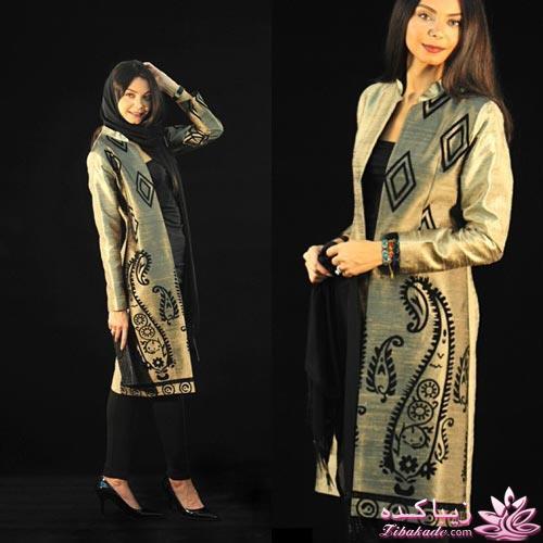 مدلهای دامن شلواری مانتو ایرانی 2015 مانتو اسپورت جدید 2015