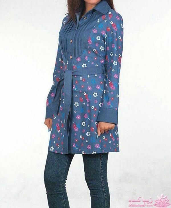 مدل مانتو جدید با پارچه اسکاجی مدل مانتو جدید مدل لباس و مانتو بهاره صفحه 48 - زیباکده