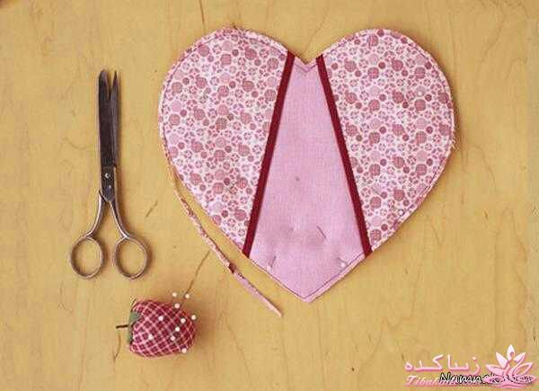 آموزش دوخت دستمال پشتی آموزش انواع دوخت - زیباکده