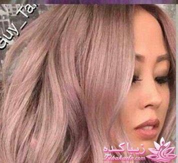 فرمول ترکیب رنگ رز گلد رنگ مو، آموزش ترکیب رنگ مو رنگ مو با هایلایت - زیباکده