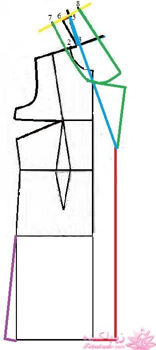 مدل یقه ایستاده کت آموزش دوخت پالتو افس: سلام آهوجان خسته نباشی صفحه 13 - زیباکده